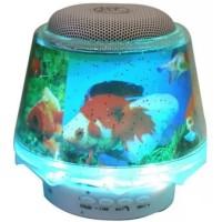 Speaker lampu Christmast Bluetooth Speaker Table Lamp LED Light White