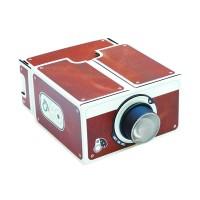 Jual Proyektor Portable Cardboard Smartphone Projector 2.0 Murah