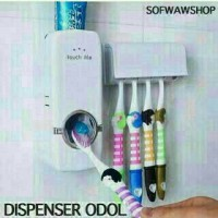 Dispenser Odol Toothpaste / Wadah Sikat Gigi Murah TM Touchme