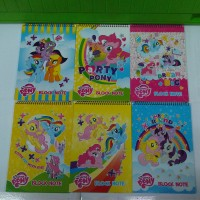 Buku Diary Notebook My Little Pony