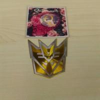 Jual Emblem Transformer Reflector Warna Kuning Autobots Murah