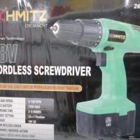 Cordless Drill / Bor tanpa Kabel / Portable 18V