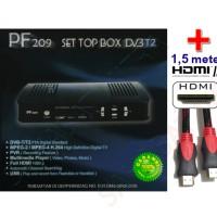 Antena TV-PF DIGITAL RECEIVER - PF 209 SET TOP BOX DVB T2+HDMI
