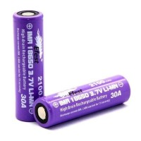 AA0827-Efest Purple IMR 18650 2100mAh 3.7V 30A Flat Top - Purple