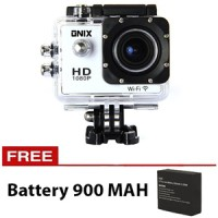 Jual WIFI Onix Kogan Action Camera 1080p DV508C 12MP Putih + Battery 900 Ma Murah