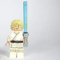 Lego Original Minifigure Luke Skywalker Star Wars