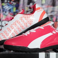 harga Sepatu Futsal Puma Evospeed Putih Pink Sol Hitam (futsal-bola-sport) Tokopedia.com