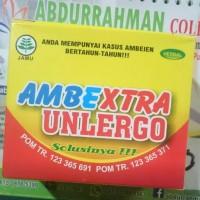 Ambe Xstra Unlergo   Herbal Ambeien Mujarab