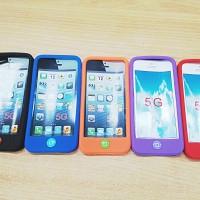 harga Silicone/silikon/softcase Hp/handphone Iphone 5 Murah Tokopedia.com