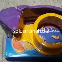 DISPENSER ISOLASI 2 INCH PVC MOSHIMOSI pemotong tempat