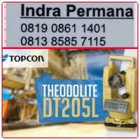 (2016) JUAL THEODOLITE TOPCON DT-205L