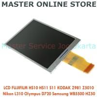 LCD Fujifilm HS10 HS11 S11 Kodak Z981 Z5010 Nikon L310 Olympus D720