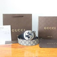 JUAL BELT GUCCI GG PLUS BELT WITH G BUCKLE NEW MODEL MIRROR QUALITY
