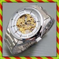 harga Rolex Skeleton Balok Silver Putih | Jam Automatic Omega Tag Heuer Tokopedia.com