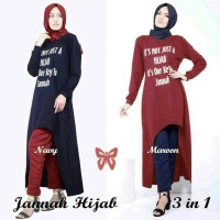 setelan Hijab Janah 3 in 1
