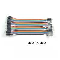 Kabel Jumper Male-Male Breadboard Arduino Wire Bread Board Cable AB70