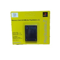 Memory Card Sony PS2 64 Mb - Black