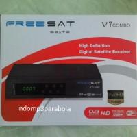 Freesat V7 Combo / Dekoder + Dvbt2