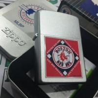 Zippo MLB Boston Red Sox Discontinue 2007 (H 07) New Satin Chrome