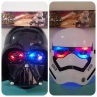 Topeng Starwars Darth Vader, Stromtropper Nyala