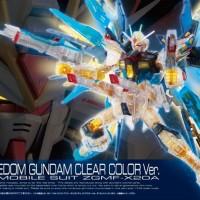 RG Strike Freedom Gundam Clear Color Ver. (Gunpla Expo)