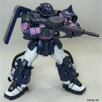 GUNDAM ZAKU BLACK 3 STAR MG