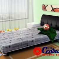 harga Kasur Spring Bed Central Sporty Silver X1 Ukuran 160x200-full Set Tokopedia.com