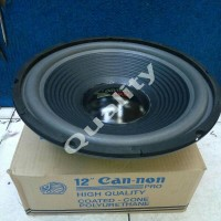 speaker woofer 12 inch canon 350 watt