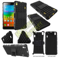 Jual Stand Case Heavy Duty Rugged Armor Lenovo A7000 Special Edition