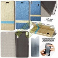 Jual Leather Case Lenovo A7000 Special Edition Sparkle Lining Murah