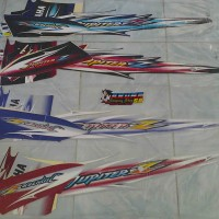 Striping/Sticker Motor Jupiter Z CW 2007