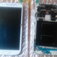 LCD Fullset Frame Samsung S4 original || LCD I9500