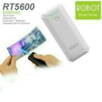 Powerbank Plus Deteksi Uang Palsu 5600 mAh White