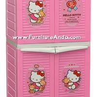 Container Pintu/Lemari pakaian/plastik Napolly 242 - Hello Kitty