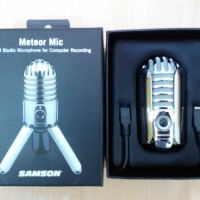 Samson Meteor Mic/ USB Studio Microphone