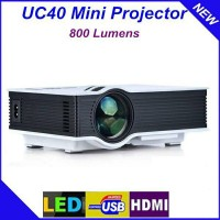New Projector Full HD 1080p HDMI USB 1000 Lumens