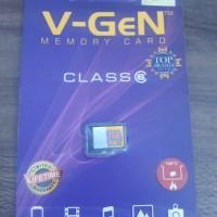 harga Microsd Memory Card Hp V-gen / Vgen 8g 8gb Class6 High Grade Tokopedia.com