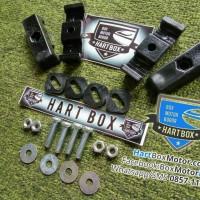 Set kunci ring mur baut plat baseplate box motor givi kappa kmi