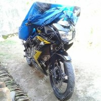 Selimut motor sport / mantel motor / pelindung motor sport biru