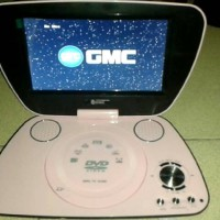 Dvd Portable 9inch Merk Gmc