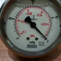 Vacuum gauge wika