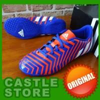 ORIGINAL  Adidas Predator Instinct IN Blue Orange (Sepatu Futsal) 134134d9ef