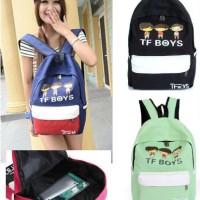 Tas Ransel Backpack TF Boys Chibi IMPORT