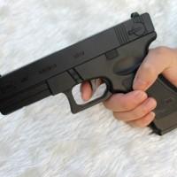 harga Korek Api Pistol Model G.M.B.H Glock 18 Revolver ( Mirip asli ) GROSIR Tokopedia.com