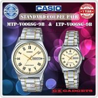 jam tangan couple casio MTP-LTP-V006SG-9B | Jam tangan pasangan ORI