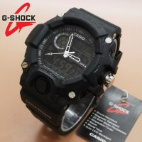 Casio GShock GW9400 Full Black White Needle 3 Jarum JM3421