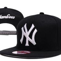 harga Topi Snapback New Era 9fifty MLB NY Yankees Black - Import Tokopedia.com