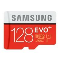 Samsung Micro SDXC SDHC EVO Plus Class 10 80MB / S 128GB + SD Adapter