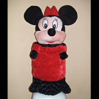 Sarung Cover Tutup Dispenser Galon Air Boneka Minnie Mickey