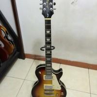 Gitar epiphone les Paul sunbrush pabrikan PU gnb korea